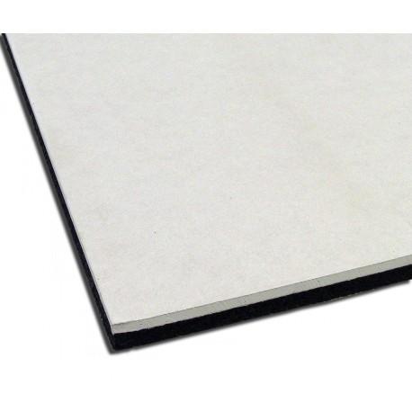 Lastra per l'isolamento acustico di pareti e soffitti esistenti 100 cm x 120 cm