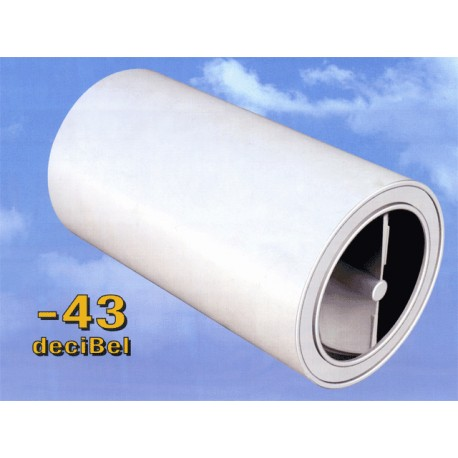 Helix silenziatore elicoidale per fori diam. 160 mm