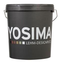 Claytec Yosima Intonachino Design di argilla - 20 kg - COLORE BASE ROSSO (RO)