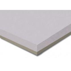 Isolante termico XPS accoppiato con lastra di cartongesso 100 cm x 120 cm