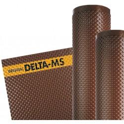 Membrana bugnata DELTA MS di protezione dei muri di fondazione e di opere di ingegneria civile