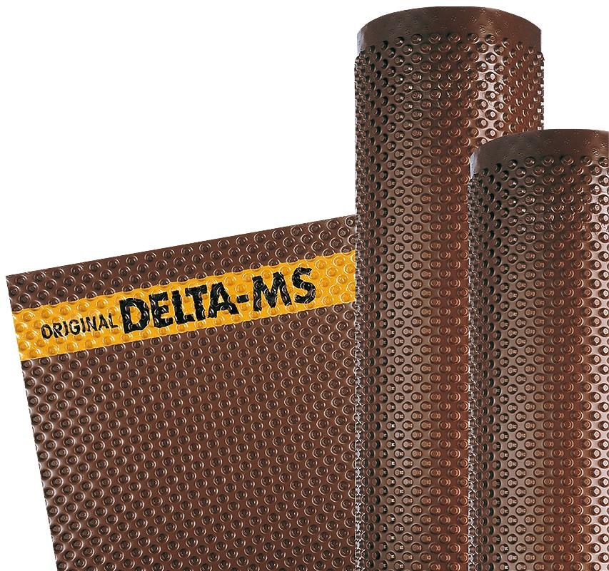 Membrana bugnata di protezione dei muri di fondazione - Delta ms castorama ...