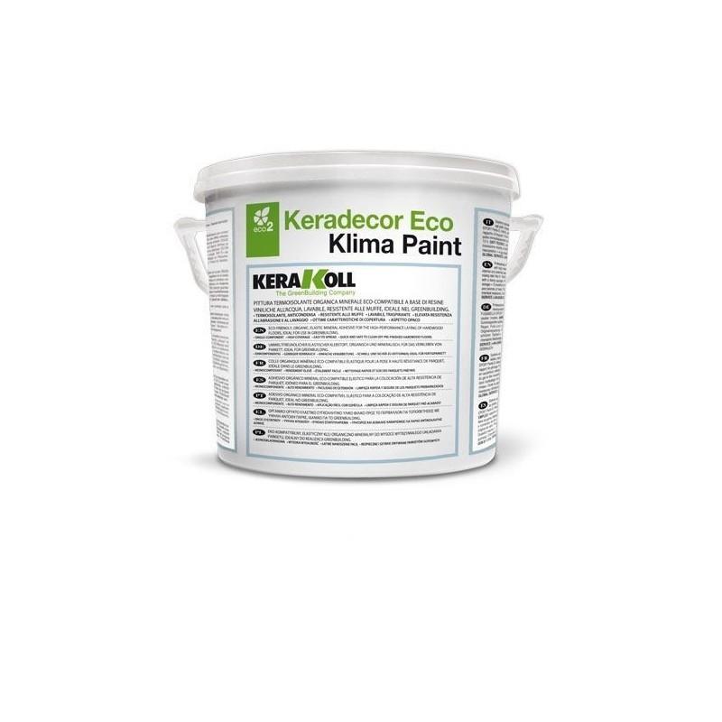 Pittura termoisolante keradecor eco klima paint vendita - Pittura termoisolante antimuffa ...