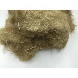 Hanf-wool è la canapa in fiocco per l'isolamento termo-acustico