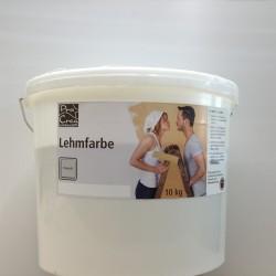 La pittura d'argilla ProCrea è traspirante e priva di additivi chimici
