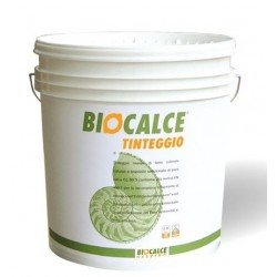 Biocalce Tinteggio controlla l'umidità ed è l'ideale per la decorazione traspirante di intonaci