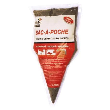 SAC-A-POCHE collante in sacchetto addatto per listelli di rivestimento DECOR e DISEGUAL