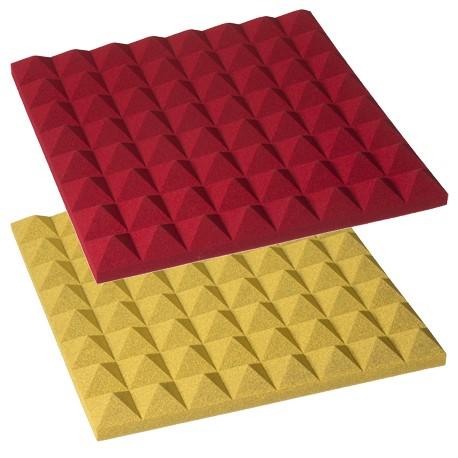Pannello fonoassorbente piramidale colorato mappysil 50 cm for Bricoman pannelli fonoassorbenti