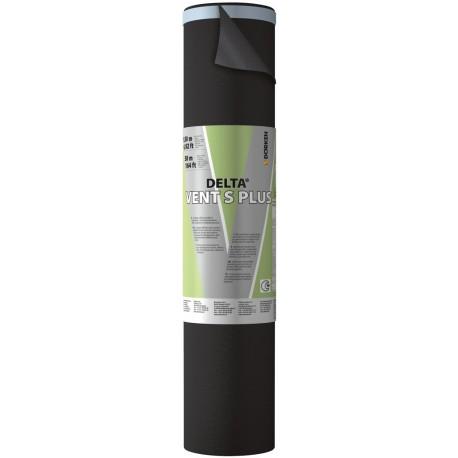 Delta Vent S Plus: membrana impermeabile e altamente traspirante per tetti in pendenza in rotoli da 1.5 m per 50 m