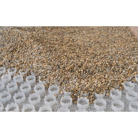 Grigliato carrabile Geogravel per la realizzazione di superfici drenanti con la ghiaia
