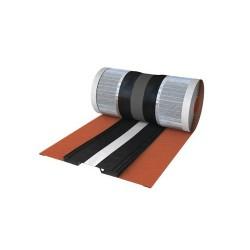 Sottocolmo impermeabile rosso in alluminio RAPID ROLL 390