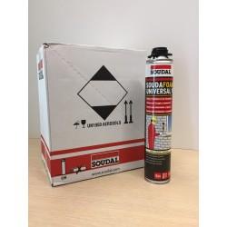 Schiuma poliuretanca multiuso specifica per il montaggio di serramenti e idonea al fissaggio di elementi idraulici ed elettrici