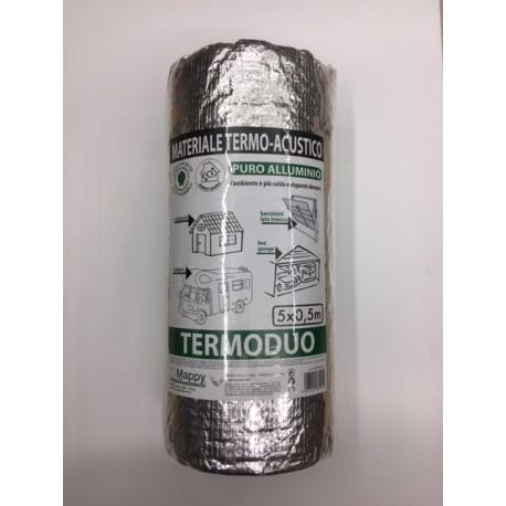 TERMODUO isolante riflettente in puro alluminio