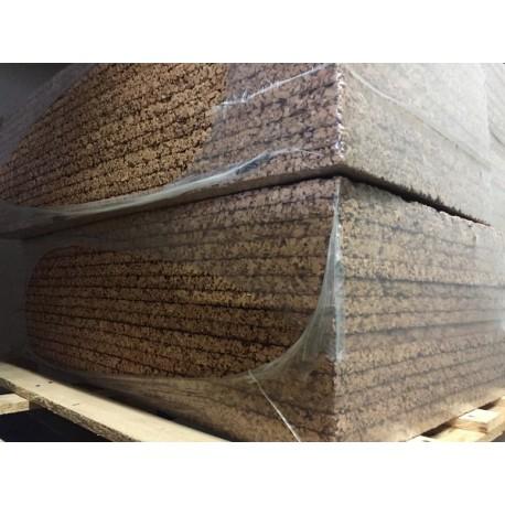 40 pannelli in sughero biondo isolante 100 x 50 cm - Guarnizioni adesive per finestre ...