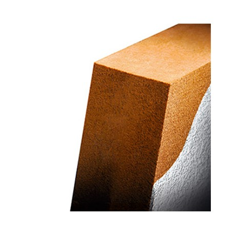 Pannello isolante in fibra di legno intonacabile Naturawall 125 x 60 CM