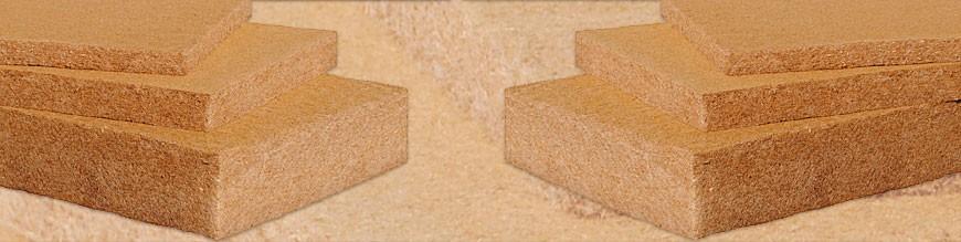 Isolanti in fibre di legno e vegetali