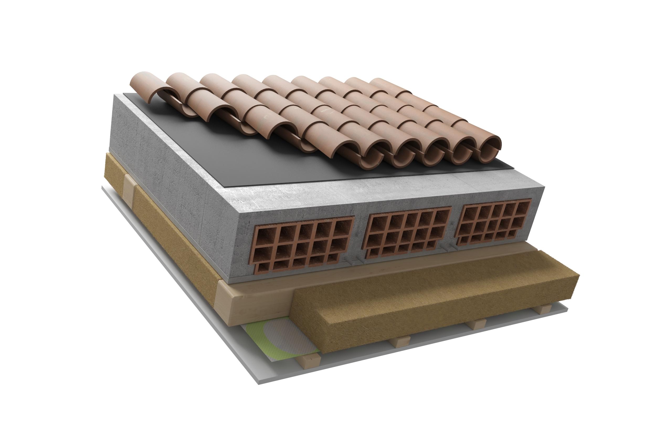 Blog steacom s r l come isolare il tetto dall 39 interno - Sughero isolante termico interno ...