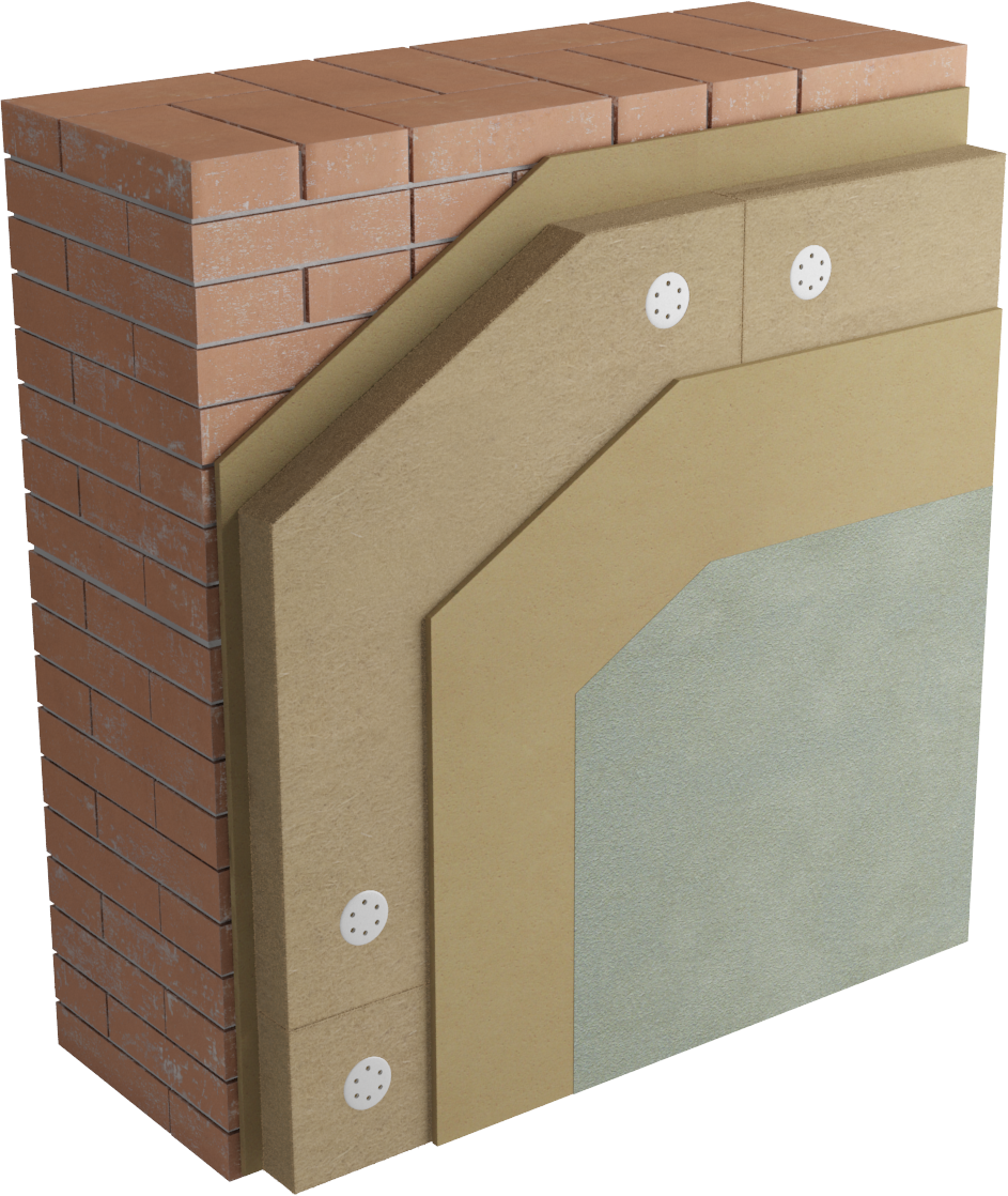 Pannelli Fibra Di Legno come posare il cappotto termico interno in fibra di legno